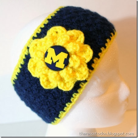 University of Michigan Ear Warmer