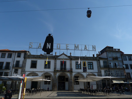 Things to see in Porto: Sandeman cave