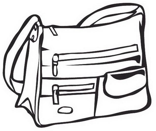 Dibujos de bolsos para colorear y pintar - Bolsas para pintar ...