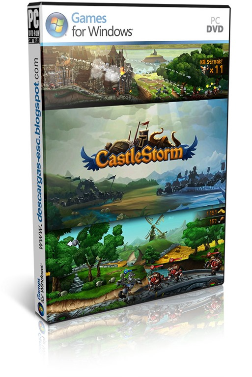 CastleStorm pc cover box art-descargas-esc.blogspot.com