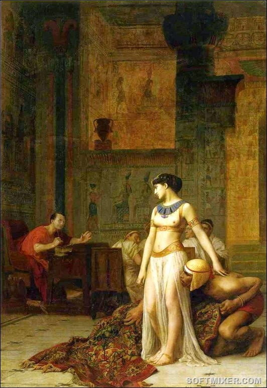 Cleopatra_and_Caesar_by_Jean-Leon-Gerome(2)
