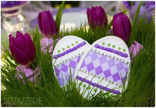 purple-lavender-easter-cookies