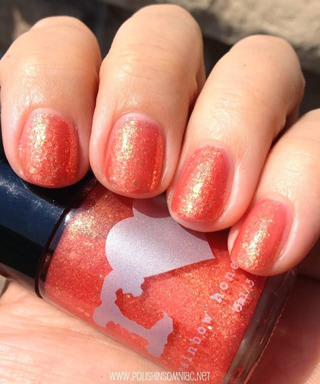 Rainbow Honey Custom Blended Nail Lacquer in Fire Spring