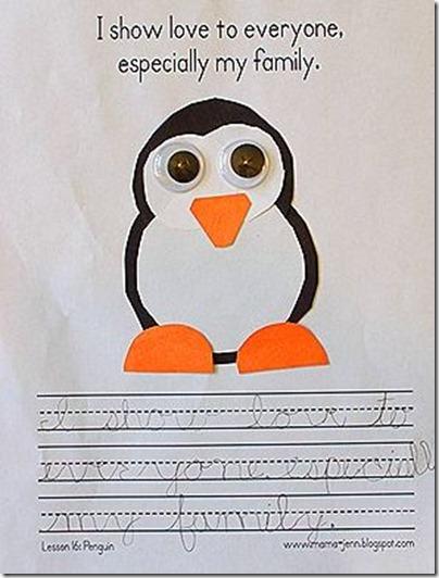 My Father&#39;s World Kindergarten Words to Remember: Pp for Penguin
