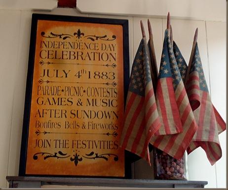 Patriotic board 1