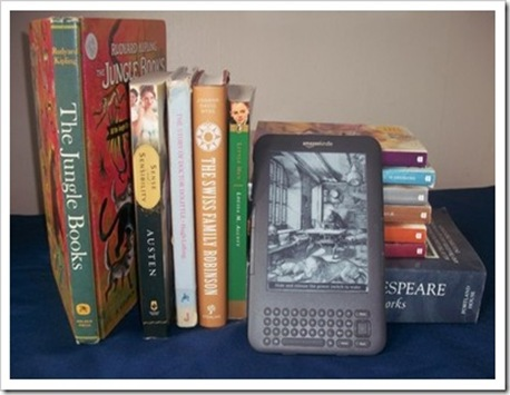 kindle by books
