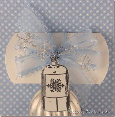 snowflake pillow box