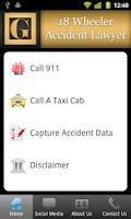 Screenshot of 18 Wheeler Accident Lawyer