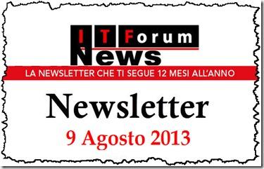 itforumnews 9 agosto 2013