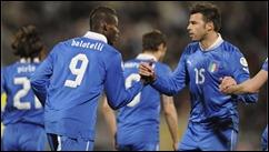 Italia enfrenta a San Marino en partido amistoso