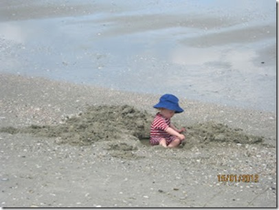 abc baby beach close Ann NZ the blue hat.