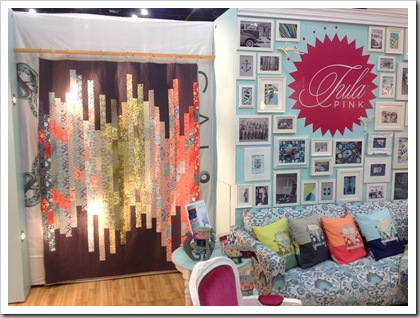 Quilt Market Houston 2012, Tula Pink booth