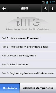 Health Facility Guidelines PRO - screenshot