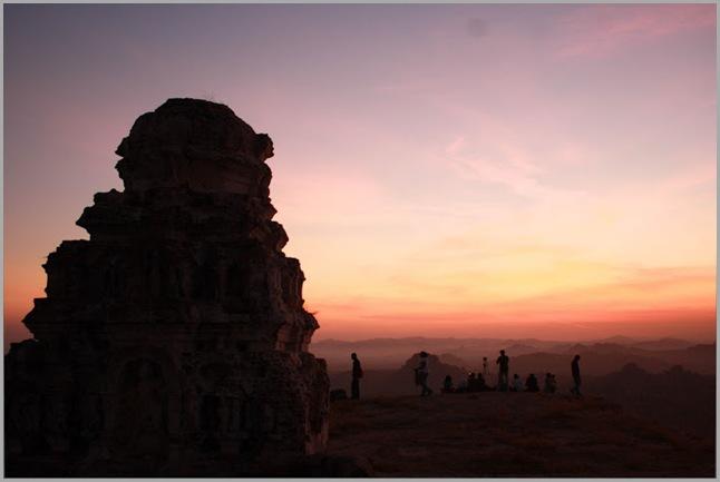 Mathanga parvatha Sun rise
