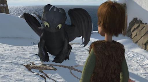 Как приручить дракона дар ночной