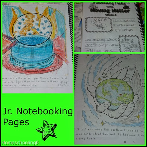 Jr. Notebook Pages