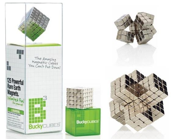 Cubos magnéticos: Bucky Cubes
