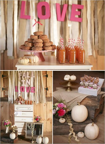 Semplicemente Perfetto Fall Wedding Idea 5