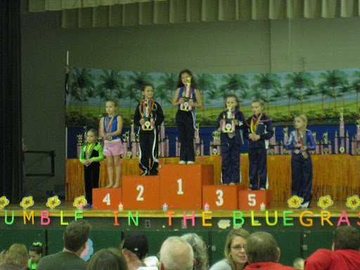 Natalie 3rd & Brooklyn 5th - Overall - 8 JR