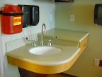 Room 5531 corner sink