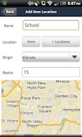 Screenshot of Ringrr FREE -Location Ringtone