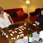 rummikub while being passed out on the couch in Seefeld, Tirol, Austria