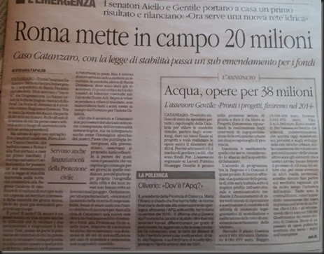 arrivano 20 milioni di euro 27.11