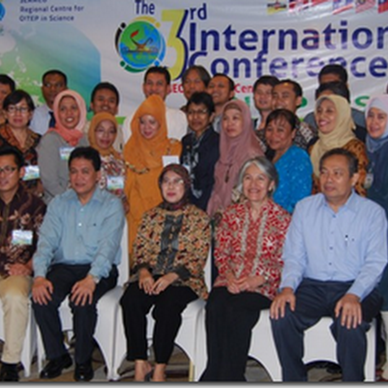 SEAMEO QITEP in Science, The 4th International Conference (ICon) on Science Education and Teacher Professional Development