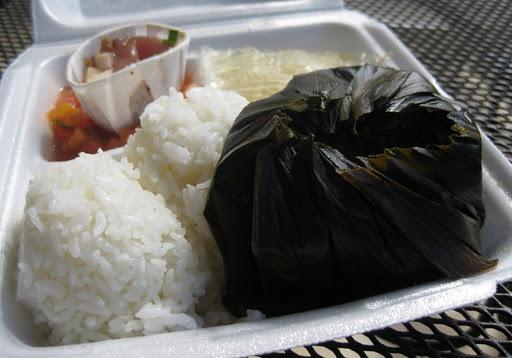 Lau Lau at Koloa Fish Market