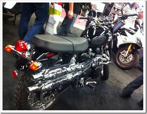 Triumph Scrambler 2013 Salon Moto Montreal