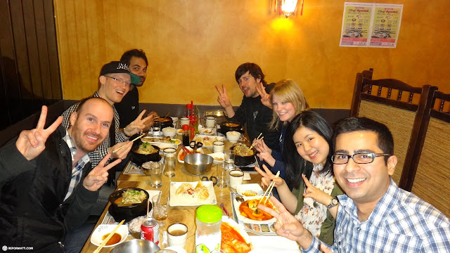 Climax Media at SOFT TOFU friday dinner party in Toronto, Ontario, Canada