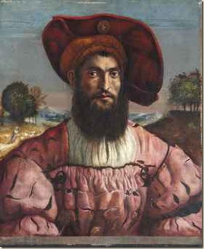 Suiveur de Dosso Dossi, Portrait d'homme