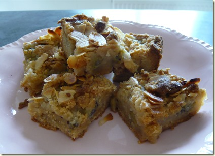 gooseberry and almond streusel squares6