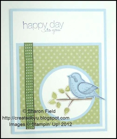 bluebird for senior card makers