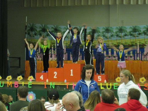 Natalie 1st & Brooklyn 2nd - vault - 8 JR