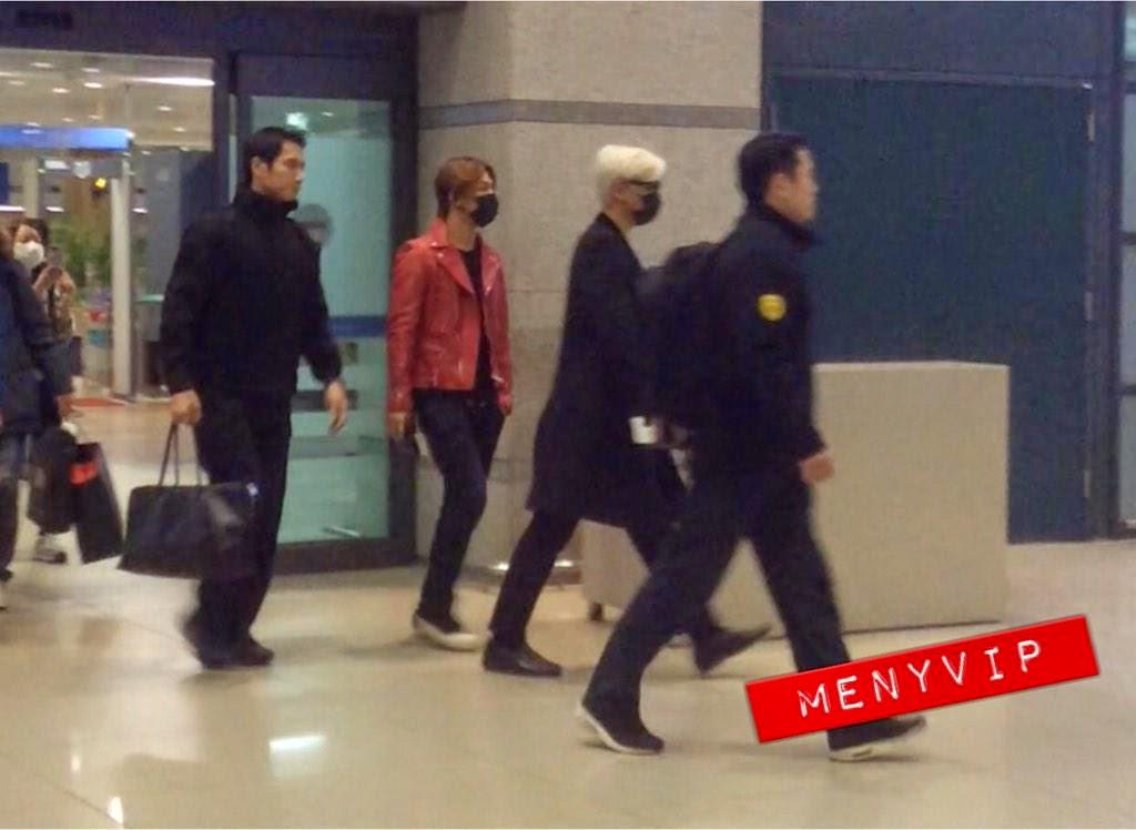 Dae Sung & TOP - Incheon Airport - 01jan2015 - menyVIP - 02.jpg