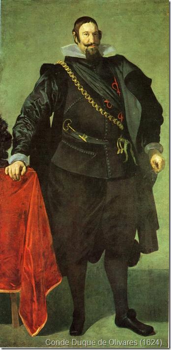 Conde Duque de Olivares (1624).