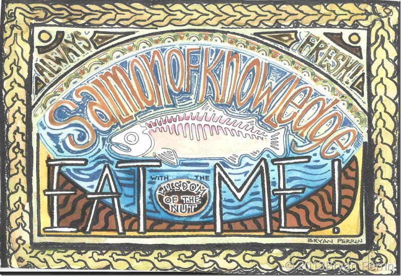 Salmon of Knowledge widom of the nut