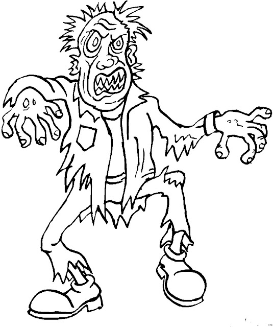 The Walking Dead Coloring Pages