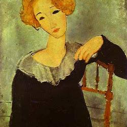 Modigliani, Woman With Red Hair 1917.jpg