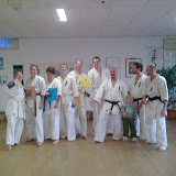 Karate examens senioren dec 2009