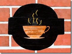 cup of coffee on the wall