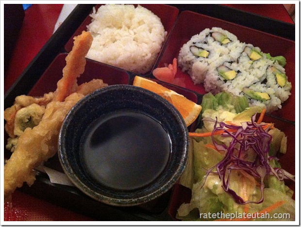 Meiko Sushi California Roll Kids Meal