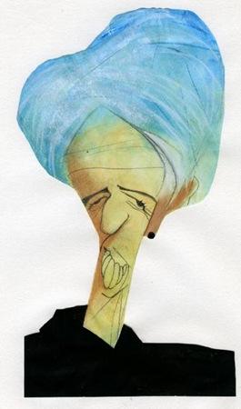 Christine_Lagarde caricatura