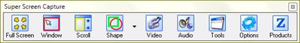 โปรแกรม super screen capture