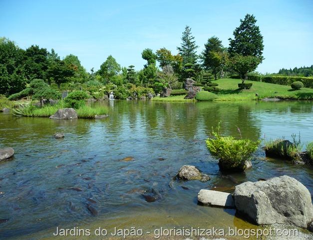 Jardins no Japão - Jardim Ushiku daibutsu - Glória Ishizaka