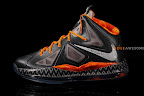 nike lebron 10 gs black history month 1 02 Release Reminder: Nike LeBron X Black History Month
