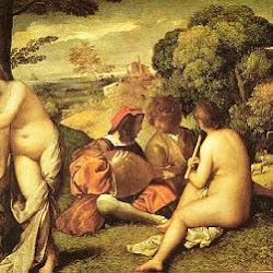 83 - Giorgione - Concierto campestre
