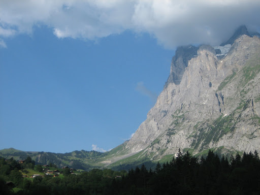 The Eiger from the Grindewald Valley