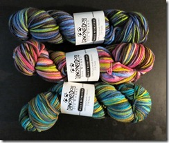 Dancing Doy Dyeworks Waltz Worsted 2
